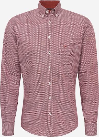 FYNCH-HATTON Overhemd in de kleur Rood / Wit, Productweergave