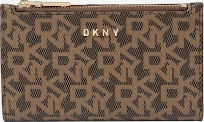 DKNY Geldbörse 'Bryant' in hellbraun / dunkelbraun, Produktansicht
