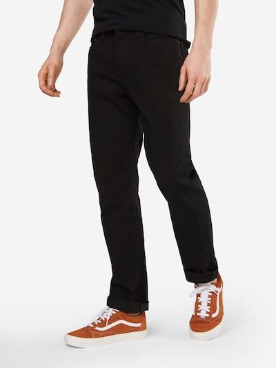 GAP Jeans 'V-STRAIGHT STR BLACK' in black denim: Frontalansicht
