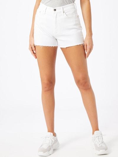 Calvin Klein Jeans Jeansy w kolorze białym, Podgląd na modelu(-ce)