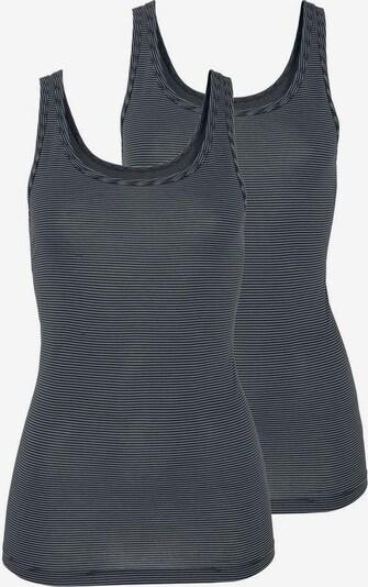 SCHIESSER Onderhemd in de kleur Nachtblauw / Wit, Productweergave