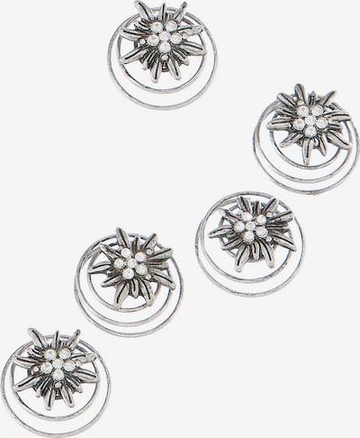 Alpenflüstern Trachtenhaarschmuck in silber, Produktansicht