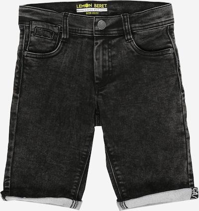 LEMON BERET Jeansshorts in schwarz, Produktansicht