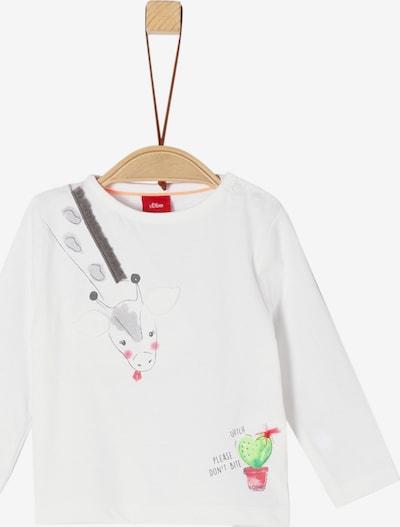 s.Oliver Junior Shirt in weiß, Produktansicht