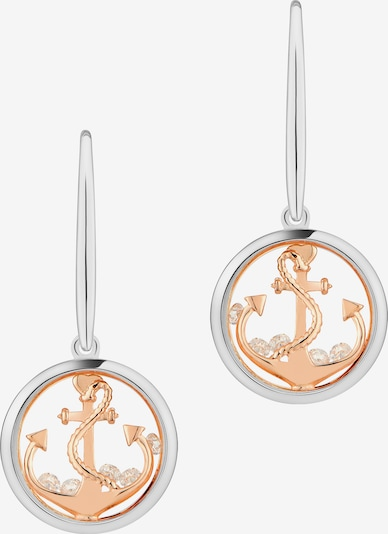 Astra Oorbellen 'ANCHOR THE SOUL' in de kleur Rose-goud / Pink / Rosé / Zilver, Productweergave