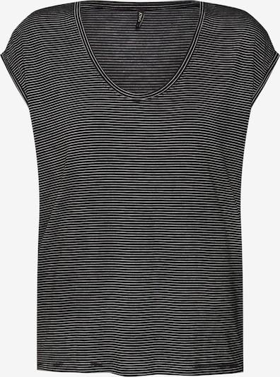 ONLY T-shirt 'lwilma' en noir / blanc, Vue avec produit
