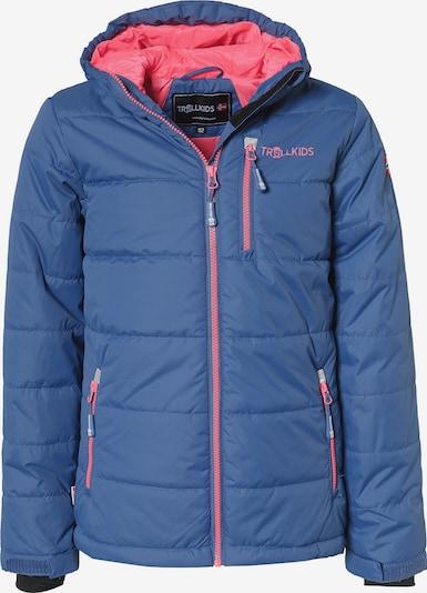 TROLLKIDS Winterjacke 'Hemsedal' in blau / pink, Produktansicht