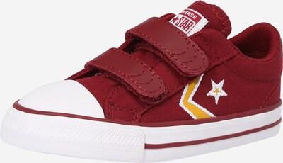 CONVERSE Superge 'STAR PLAYER' | rumena / rubin rdeča / bela barva, Prikaz izdelka