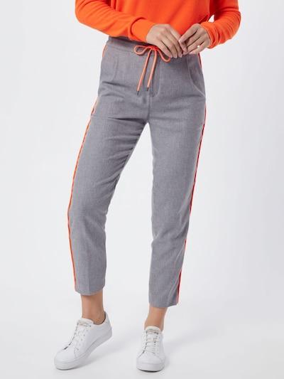 Klostuotos kelnės 'LEVEL' iš DRYKORN , spalva - pilka, Modelio vaizdas