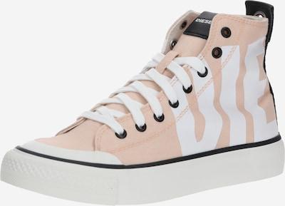 DIESEL Sneakers hoog 'S-Astico MC W' in de kleur Rosa / Wit, Productweergave
