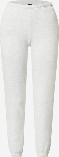 Gina Tricot Pantalon en gris chiné, Vue avec produit