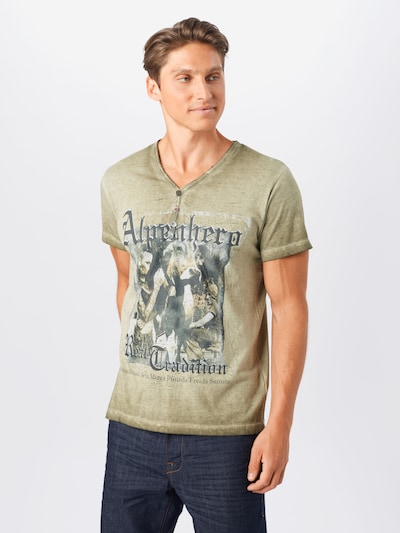 STOCKERPOINT Shirt 'Alpenhero' in khaki: Frontalansicht