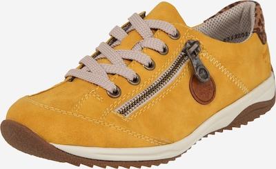 RIEKER Schuhe in braun / senf / schwarz, Produktansicht