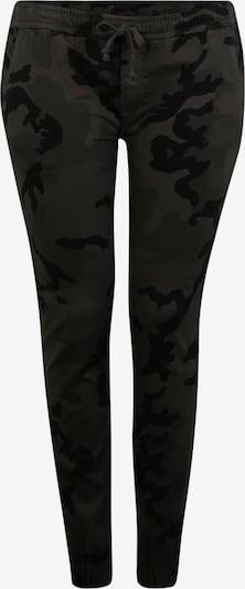 Urban Classics Curvy Hose in grau / schwarz, Produktansicht