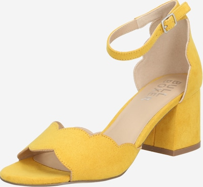 BULLBOXER Riemensandale in gelb, Produktansicht