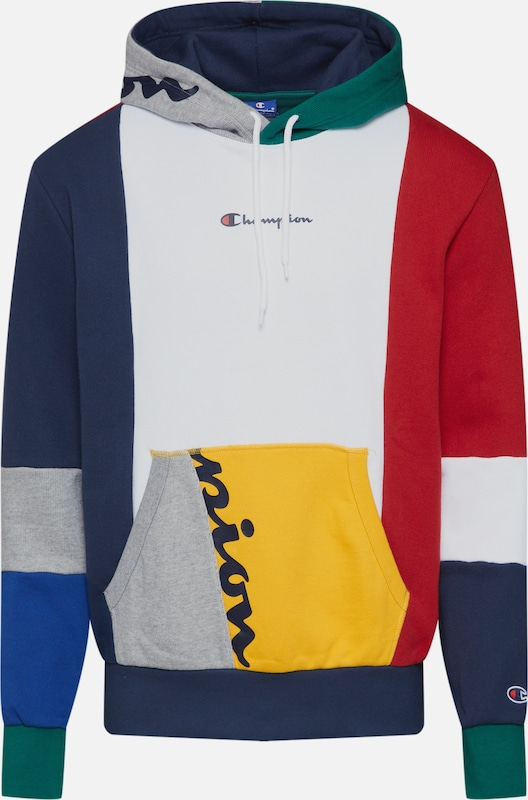 Champion Authentic Athletic Apparel Sweatshirt in mischfarben / weiß, Produktansicht