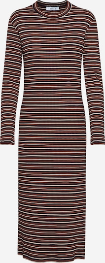 EDITED Kleid 'Bine' in blau / braun / rosa, Produktansicht