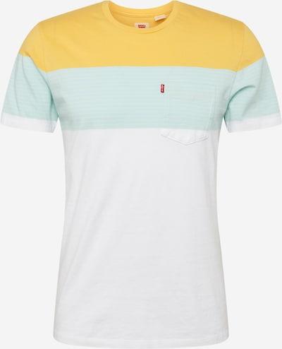 LEVI'S T-Shirt en bleu clair / jaune / blanc, Vue avec produit