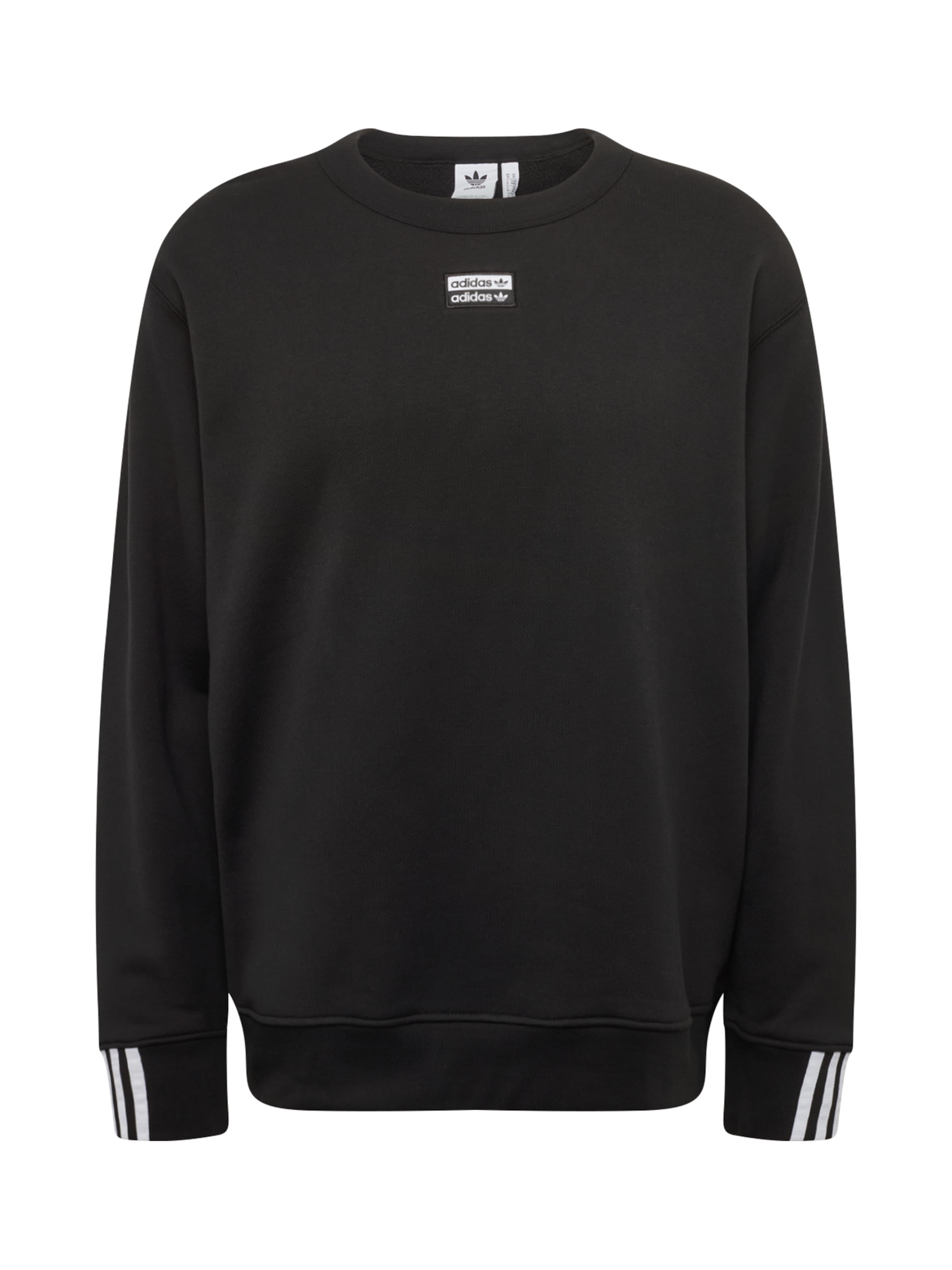 Adidas In Schwarz 'vocal Originals Sweatshirt Crew' n80wOPk