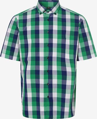 Nils Sundström Hemd ' ' in blau / grün / weiß, Produktansicht