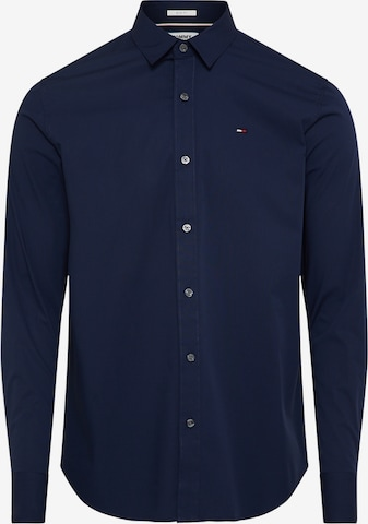 Tommy Jeans Button Up Shirt in Blue