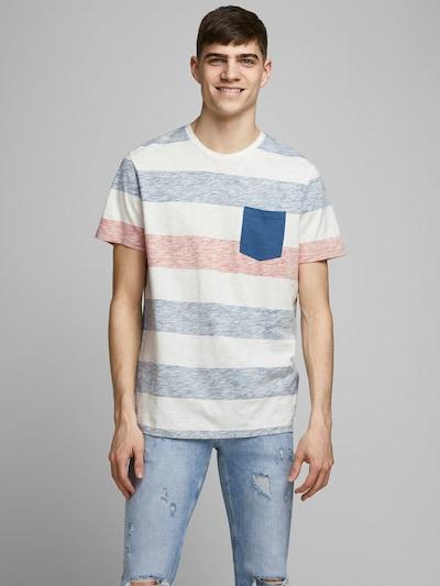 JACK & JONES Gestreiftes T-Shirt in mischfarben: Frontalansicht