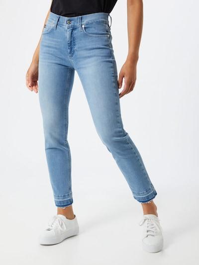 Calvin Klein Jeans in de kleur Blauw denim: Vooraanzicht