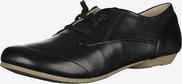 JOSEF SEIBEL Lace-Up Shoes 'Fiona 01' in Black