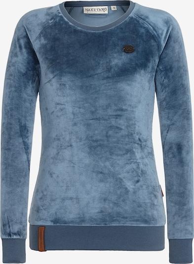 naketano Sweat-shirt 'Mackin da Hoes' en bleu ciel, Vue avec produit