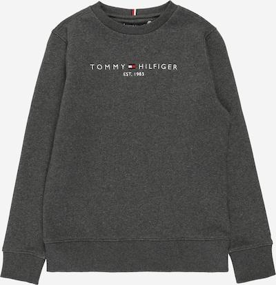 TOMMY HILFIGER Sweatshirt i mörkgrå / blandade färger, Produktvy