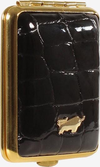 Braun Büffel Etui in gold / schwarz, Produktansicht