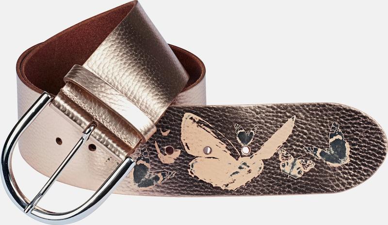 Heine Belt With Butterfly Print