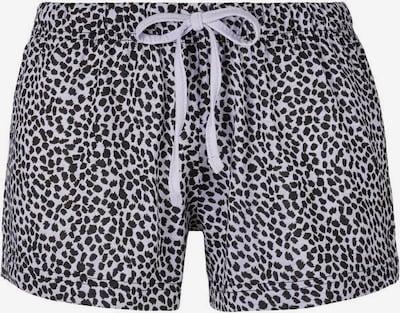 Pantaloni de pijama 'Dreams' VIVANCE pe negru / alb, Vizualizare produs