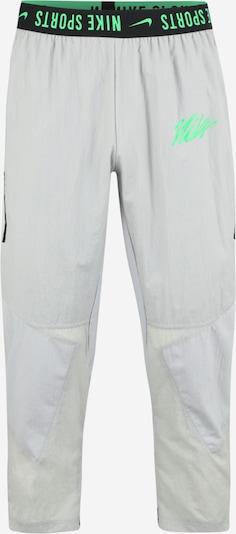 NIKE Sporthose in grau / grün / schwarz, Produktansicht
