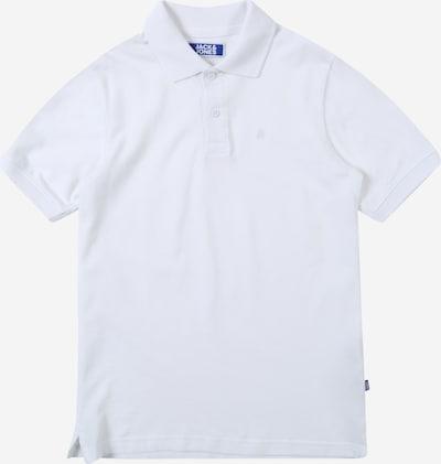 Jack & Jones Junior Poloshirt 'BASIC' in weiß: Frontalansicht