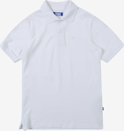 Jack & Jones Junior Polo 'BASIC' in weiß, Produktansicht