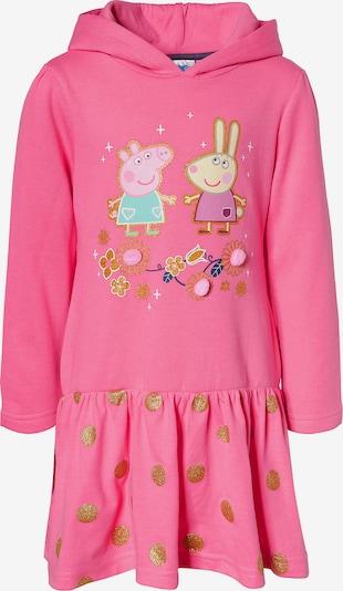 Peppa Pig Sweatkleid in mischfarben / pink, Produktansicht