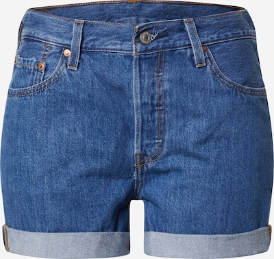 LEVI'S Jeansshorts '501® SHORT LONG' in blue denim, Produktansicht