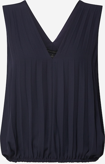 Banana Republic Bluse 'SL PLEATED BANDED TOP' in navy, Produktansicht