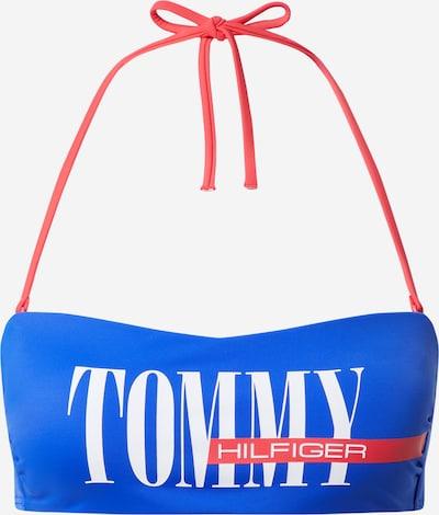 Sutien costum de baie Tommy Hilfiger Underwear pe albastru royal / roșu / alb, Vizualizare produs
