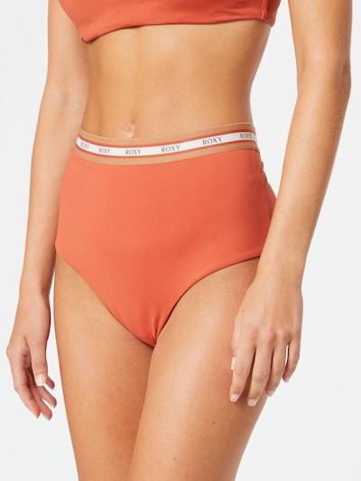 ROXY Bas de bikini 'Sisters' en noisette / corail / blanc, Vue avec modèle