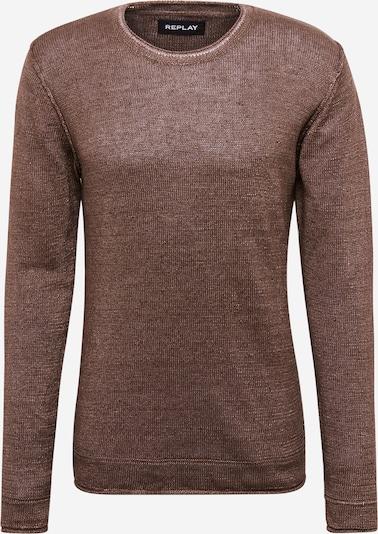 REPLAY Sweter 'Masche' w kolorze brązowym, Podgląd produktu