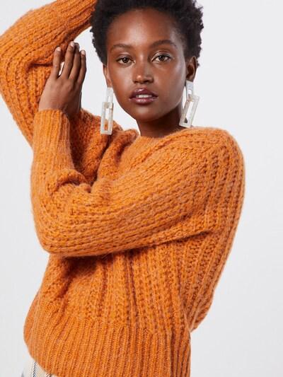 MOSS COPENHAGEN Pullover 'Heidi' in orange, Modelansicht
