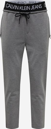 Calvin Klein Hose in graumeliert / schwarz, Produktansicht