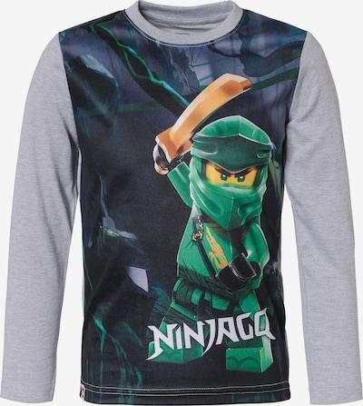 LEGO WEAR Shirt in dunkelblau / grau / grün, Produktansicht