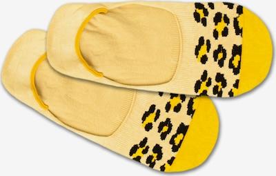 DillySocks Ťapky 'Hidden Leo' - žlutá / černá, Produkt