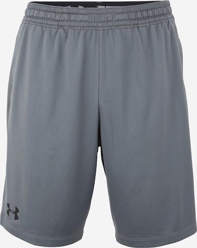 UNDER ARMOUR Pantalon de sport 'Raid 2.0' en gris foncé / noir, Vue avec produit