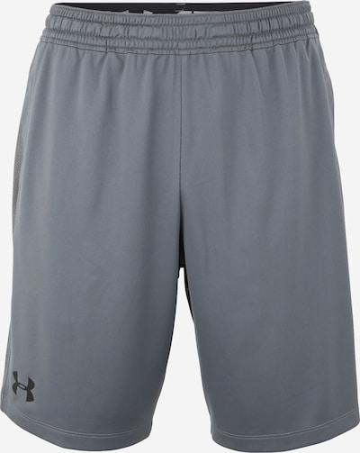 Pantaloni sport 'Raid 2.0' UNDER ARMOUR pe gri închis / negru, Vizualizare produs