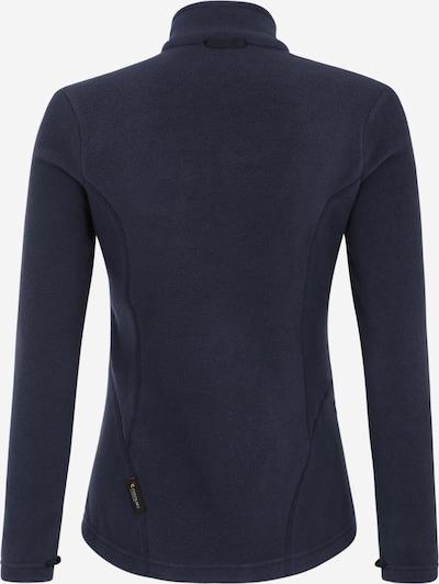 JACK WOLFSKIN Functionele fleece jas 'Moonrise' in de kleur Nachtblauw: Achteraanzicht