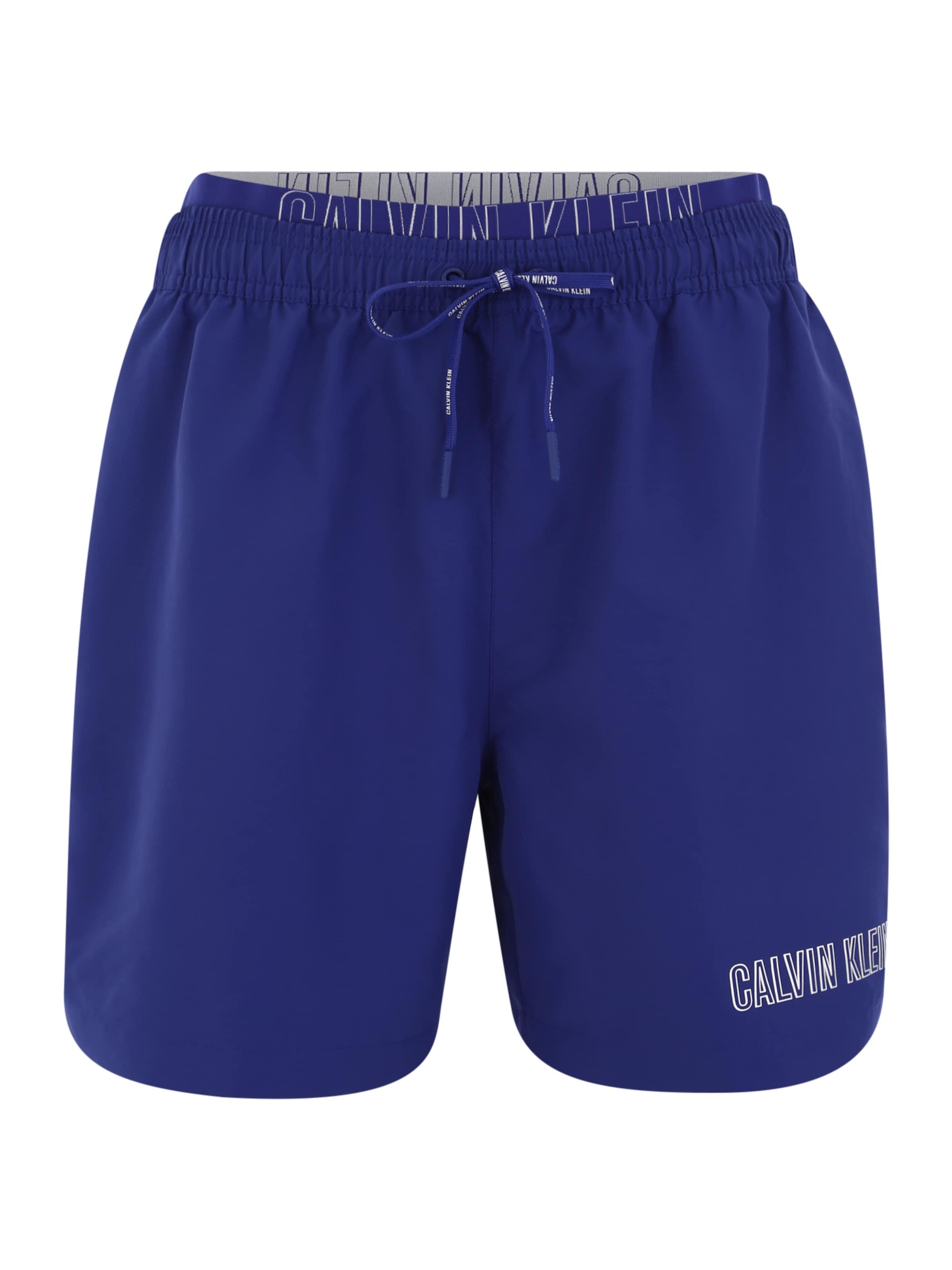 Blau Calvin Swimwear In Klein Badeshorts mNnw80